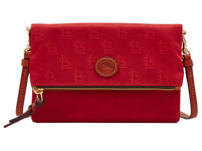 St. Louis Cardinals Dooney & Bourke Embossed Nylon Foldover Crossbody