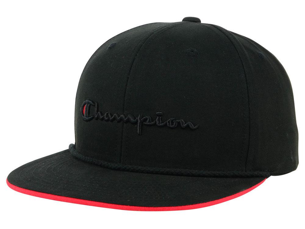 Champion Script Snapback Cap  6d24e4b88a9