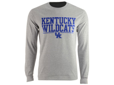 Kentucky Wildcats J America NCAA Men's Stacked Logo Long Sleeve T-Shirt