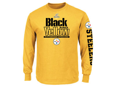 Pittsburgh Steelers NFL Men's Playoff Local Long Sleeve T-Shirt