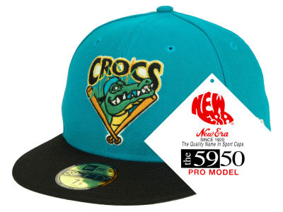 Cape Fear Crocs New Era MiLB Retro Classic 59FIFTY Cap