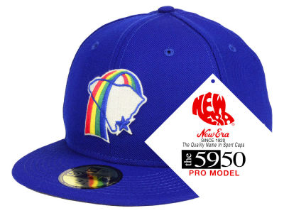 Charleston Rainbows New Era MiLB Retro Classic 59FIFTY Cap