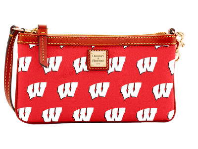 Wisconsin Badgers Dooney & Bourke Large Wristlet