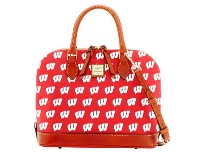 Wisconsin Badgers Dooney & Bourke Zip Zip Satchel