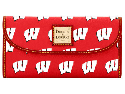 Wisconsin Badgers Dooney & Bourke Continental Clutch