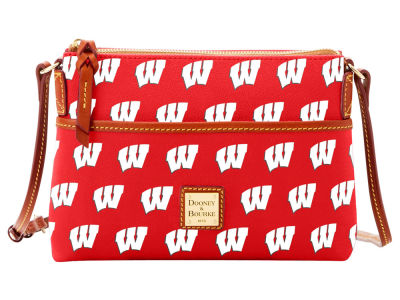 Wisconsin Badgers Dooney & Bourke Ginger Crossbody