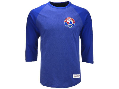 Montreal Expos Mitchell & Ness MLB Men's Patch Raglan T-shirt