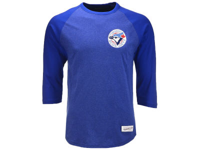 Toronto Blue Jays Mitchell & Ness MLB Men's Patch Raglan T-shirt