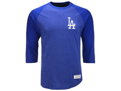 Los Angeles Dodgers Mitchell & Ness MLB Men's Patch Raglan T-shirt