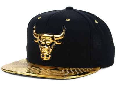 Chicago Bulls Mitchell & Ness NBA Foiled Again Snapback Cap