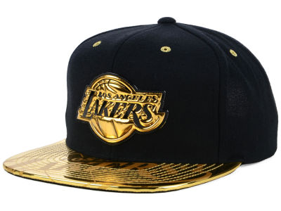 Los Angeles Lakers Mitchell & Ness NBA Foiled Again Snapback Cap