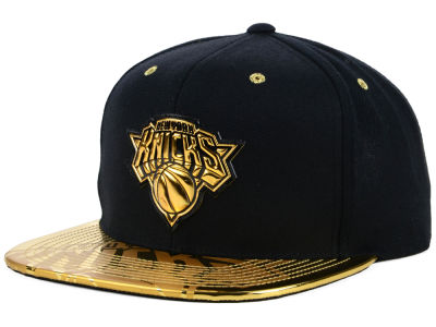 New York Knicks Mitchell & Ness NBA Foiled Again Snapback Cap