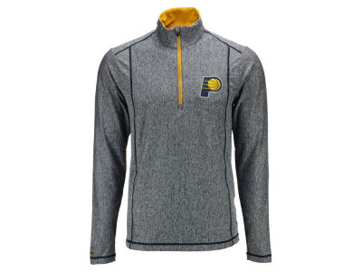 Indiana Pacers Antigua NBA Men's Tempo Half Zip Pullover