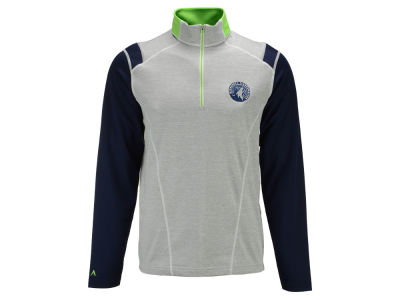 Minnesota Timberwolves Antigua NBA Men's Automatic Half Zip Pullover