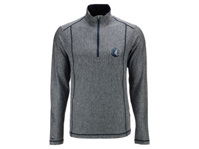 Minnesota Timberwolves Antigua NBA Men's Tempo Half Zip Pullover