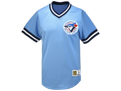 Toronto Blue Jays Mitchell & Ness MLB Men's Mesh V-Neck T-shirt