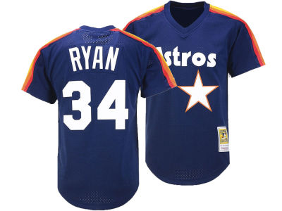 Houston Astros Nolan Ryan Mitchell & Ness MLB Men's Alumni Jersey