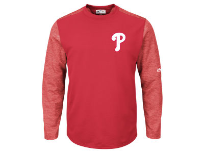 Philadelphia Phillies Majestic MLB Men's AC On-Field Tech Fleece