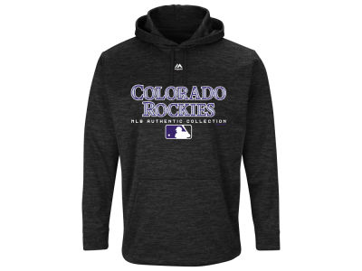 Colorado Rockies Majestic MLB Men's Ultra Streak Fleece