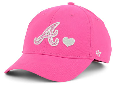 Atlanta Braves '47 MLB Girls Sugar Sweet '47 MVP Cap