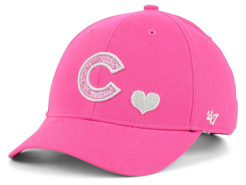9b60c182d87 Chicago Cubs  47 MLB Girls Sugar Sweet  47 MVP Cap