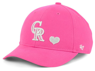Colorado Rockies '47 MLB Girls Sugar Sweet '47 MVP Cap