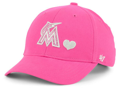 Miami Marlins '47 MLB Girls Sugar Sweet '47 MVP Cap