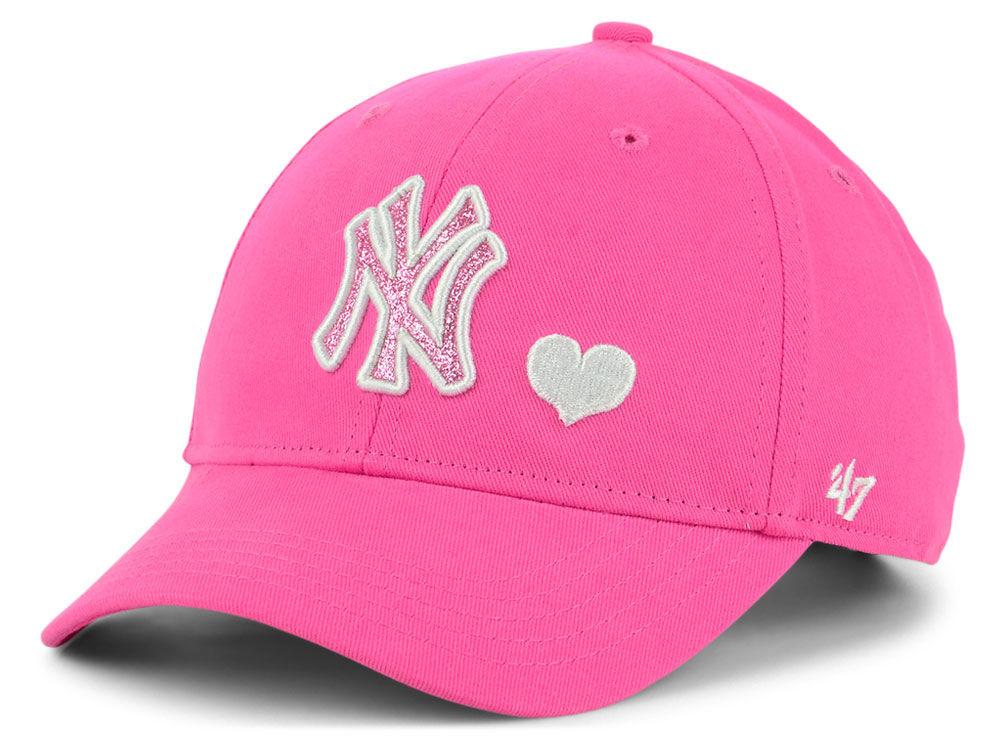 reputable site ce1f3 5e40d ... new zealand new york yankees 47 mlb girls sugar sweet 47 mvp cap 17663  9c2d8