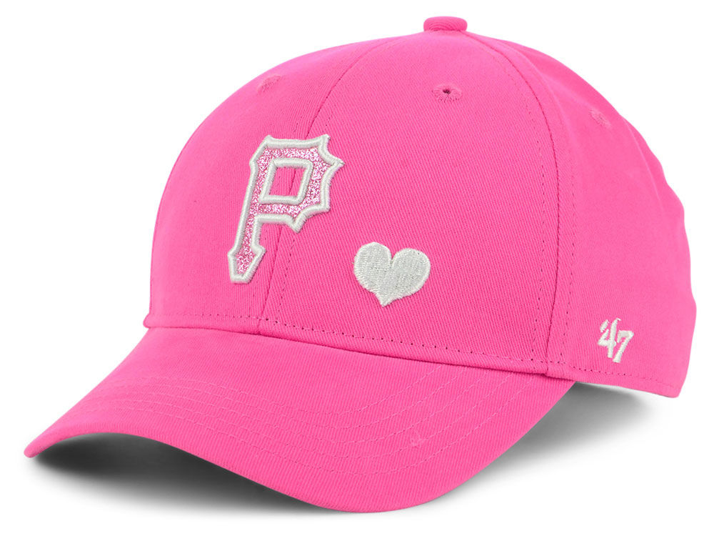 the best attitude be01d b5e1f Pittsburgh Pirates  47 MLB Girls Sugar Sweet  47 MVP Cap   lids.com