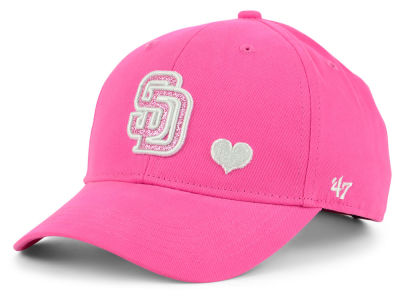 San Diego Padres '47 MLB Girls Sugar Sweet '47 MVP Cap