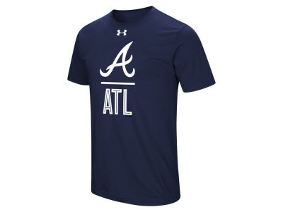 Atlanta Braves Under Armour MLB Men's Performance Slash T-Shirt