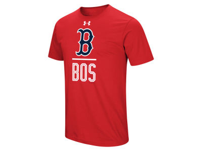 Boston Red Sox Under Armour MLB Men's Performance Slash T-Shirt