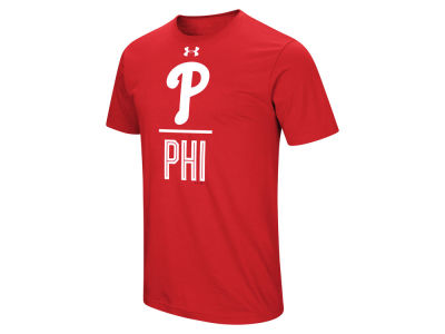 Philadelphia Phillies Under Armour MLB Men's Performance Slash T-Shirt