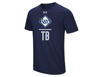 Tampa Bay Rays Under Armour MLB Men's Performance Slash T-Shirt