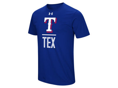 Texas Rangers Under Armour MLB Men's Performance Slash T-Shirt