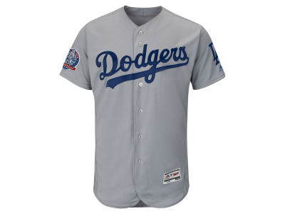 Los Angeles Dodgers MLB Men's Flexbase 60th Anniversary Patch Jersey