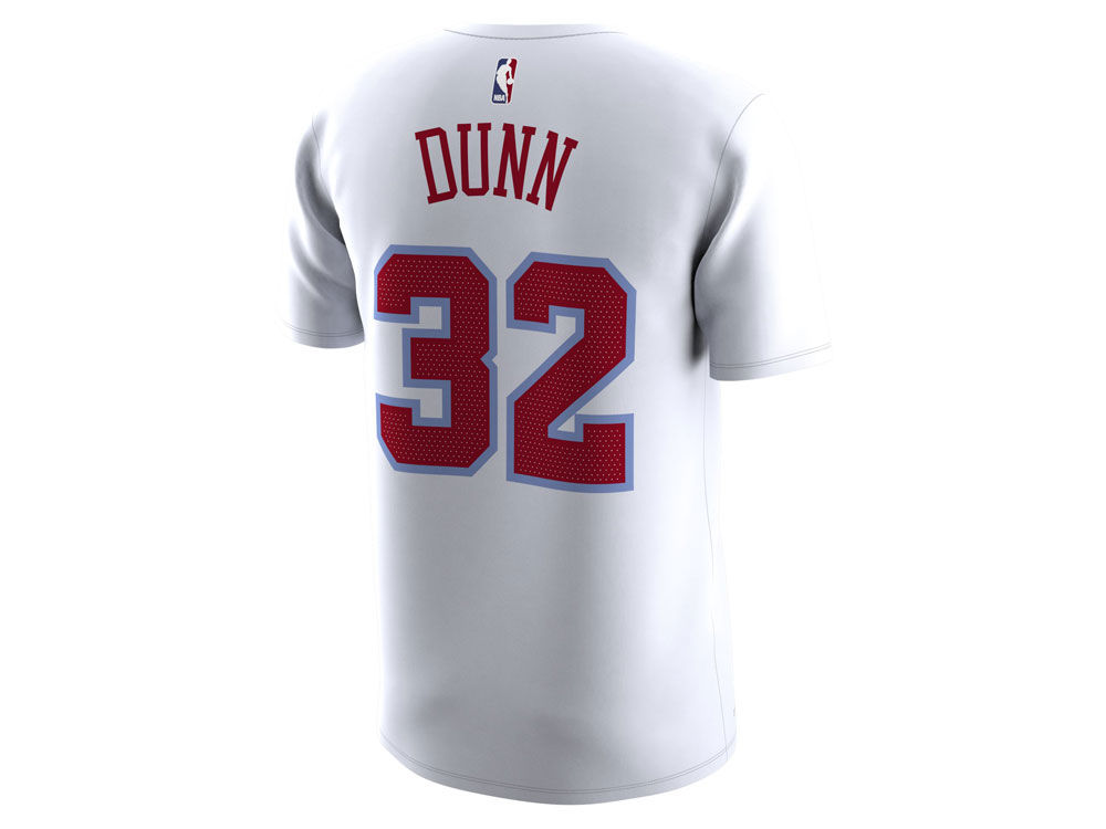 Chicago Bulls Kris Dunn Nike NBA Men s City Player T-Shirt  884df9678