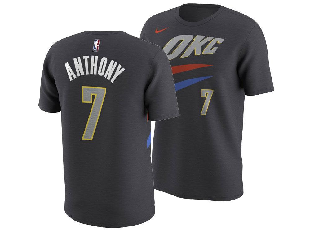 Oklahoma City Thunder Carmelo Anthony Nike NBA Men s City Player T-Shirt  f45664246