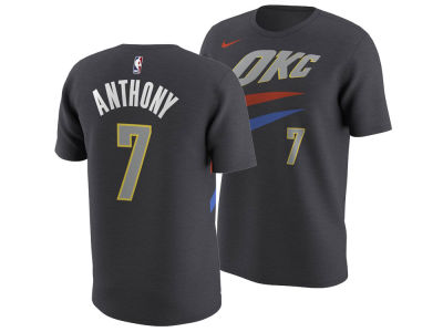Oklahoma City Thunder Carmelo Anthony Nike NBA Men's City Player T-Shirt