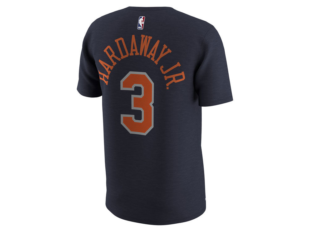 4978bd7cbe9 New York Knicks Tim Hardaway, Jr. Nike NBA Men's City Player T-Shirt |  lids.com