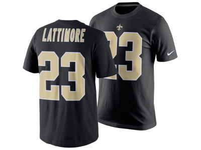 New Orleans Saints Marshon Lattimore Nike NFL Men's Pride Name and Number T-Shirt