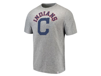 Cleveland Indians Majestic MLB Men's Twisted Stripe T-Shirt