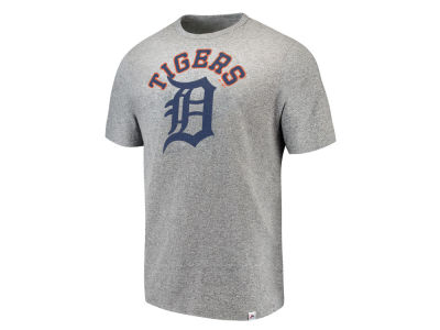 Detroit Tigers Majestic MLB Men's Twisted Stripe T-Shirt
