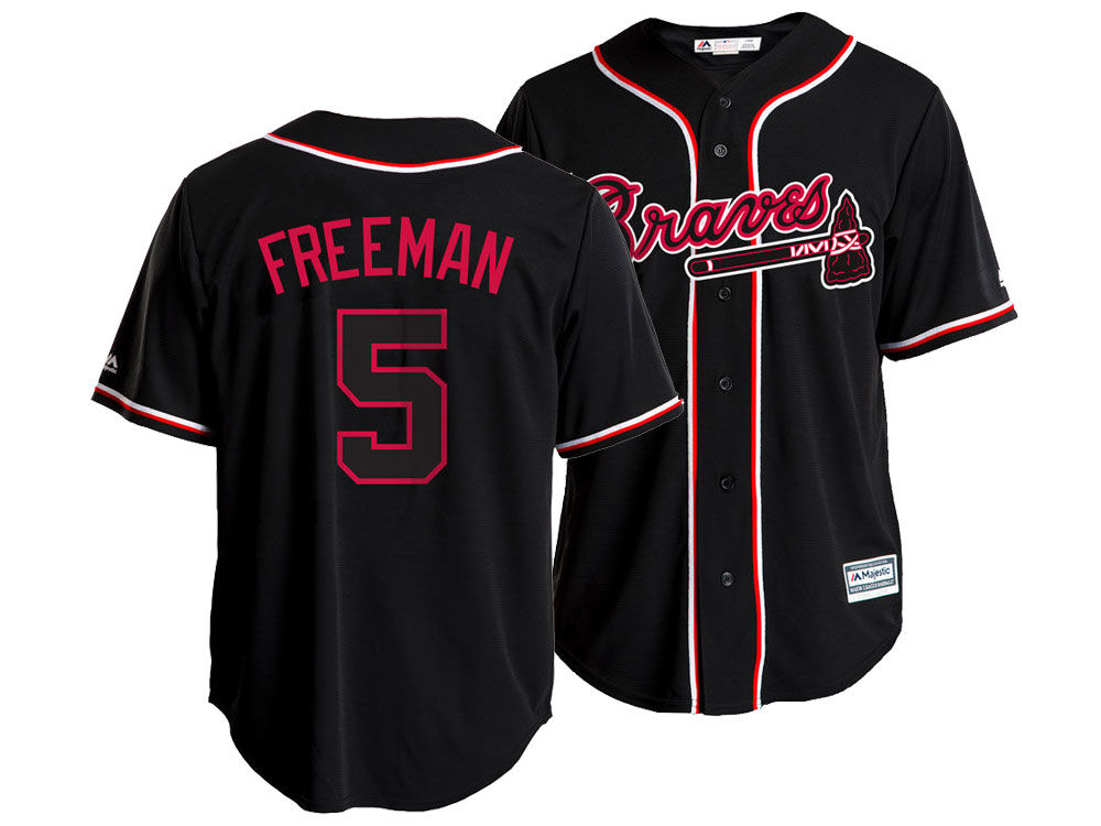 best loved 64621 93389 get atlanta braves 5 freddie freeman green salute to service ...