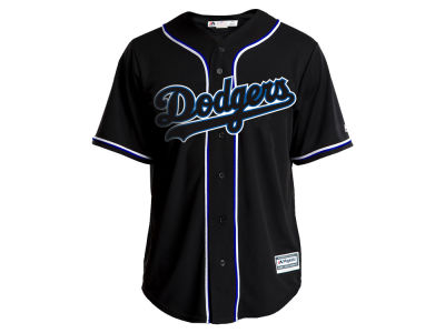 Los Angeles Dodgers Majestic MLB Men's Pitch Black Jersey