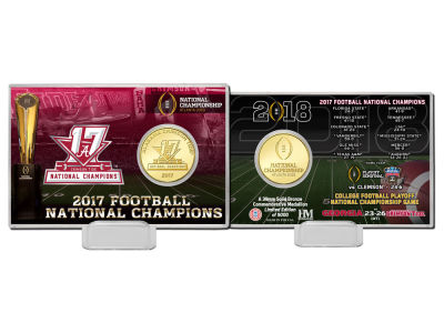 Alabama Crimson Tide Coin Card-EVENT