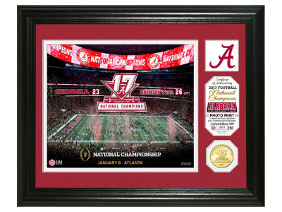 Alabama Crimson Tide Photo Mint - Field Panorama - EVENT