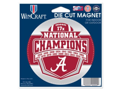 Alabama Crimson Tide Die Cut Magnet