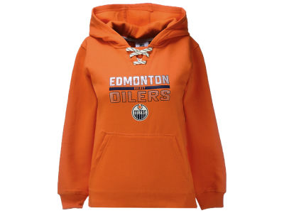Edmonton Oilers adidas NHL Youth T-Rex Lace Hoodie