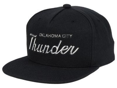 0053ec7cad6e57 ... coupon oklahoma city thunder mitchell ness nba metallic tempered  snapback cap eb796 0039a
